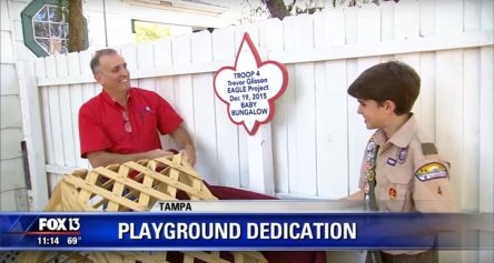 Playground Dedication